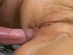 Sexy lady gets intense anal massage